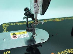 画像2: 新品★カーブがスイスイ縫える ローラー(車輪)押さえ レザー用