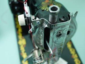画像3: ★簡単取付 アンティークミシン用 プリテンション 革/太い糸 送料無料