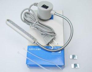 画像1: 新品 マグネット付LEDライト ミシンや鉄製家具などに