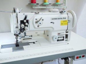 画像2: 2本針本縫い 総合送り平ミシン レザークラフターLC1560 DCモーター付
