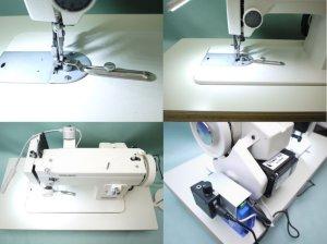 画像2: 和乃革コラボモデル レザークラフターLC-PS ポータブル工業用ミシン