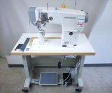ポストミシンLC1591 上下車輪総合送り 自動糸切 自動返し縫BOX付